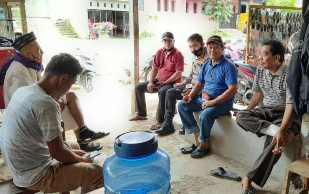 Perantau Minang di Posko IKM Sulbar Malaqbi