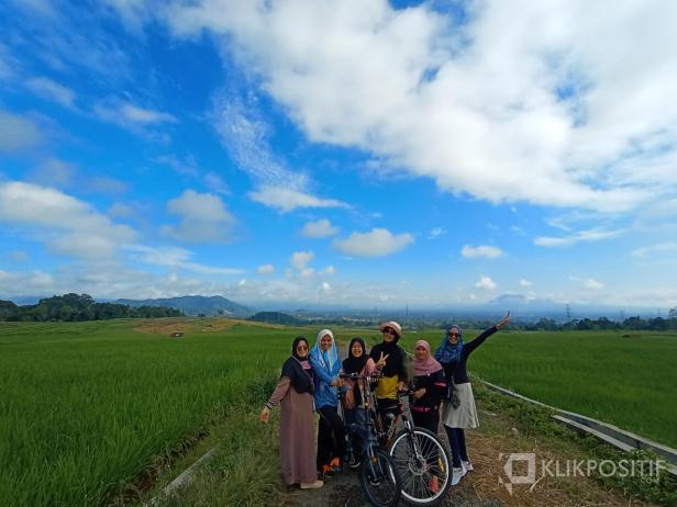 Daerah Ampangan, salah satu spot favorit dengan keindahan alam yang indah seperti di Ubud, Bali.