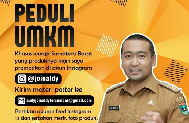 Wagub Sumbar Audy Joinaldy