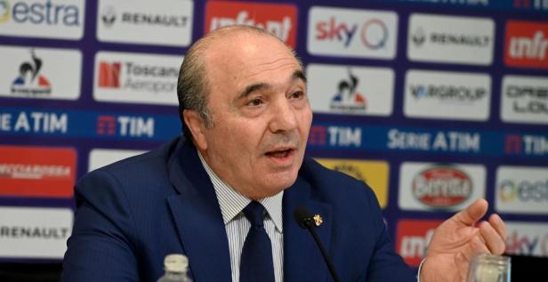 Presiden Fiorentina Rocco Commisso