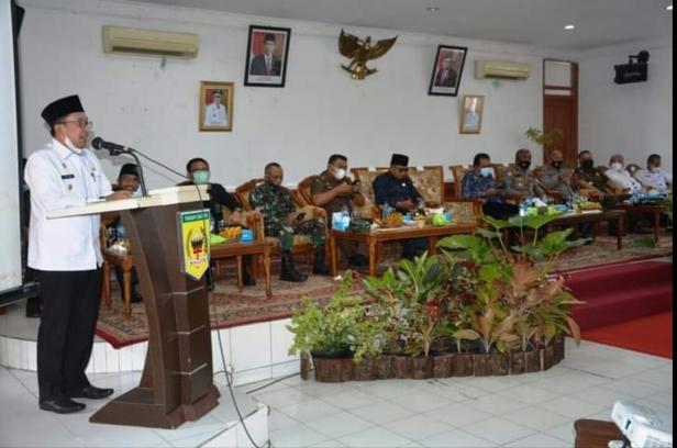 Bupati Eka Putra menyampaikan 10 program unggulan dalam Musrenbang RKPD Tanah Datar  2022