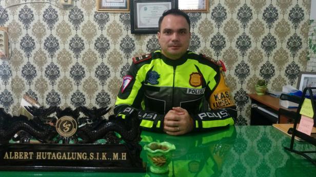 Kasat Lantas, IPTU Albert IG Hutagalung