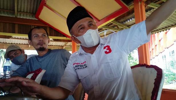 Refrizal, calon Bupati Padang Pariaman