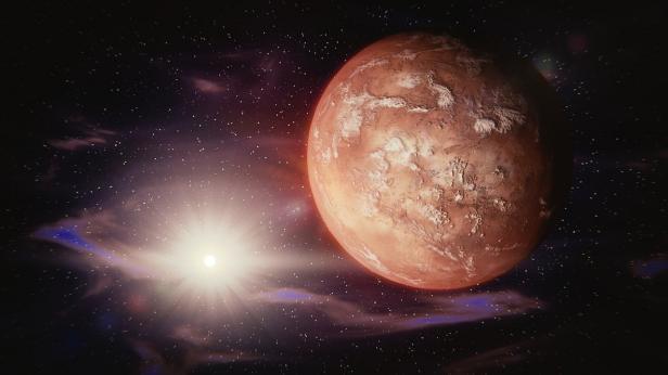 Ilustrasi Mars