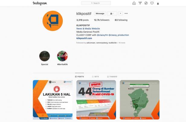 Instagram Klikpositif.com