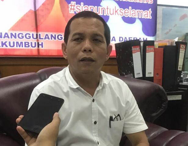 Kabid Kedaruratan dan Logistik BPBD Kota Payakumbuh, Atrimon.