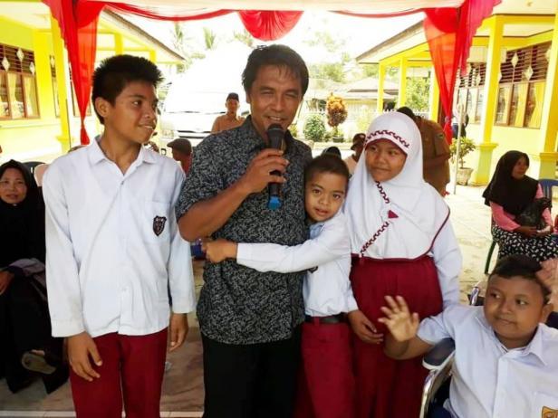 Kedekatan Syaiful Ardi dengan anak-anak