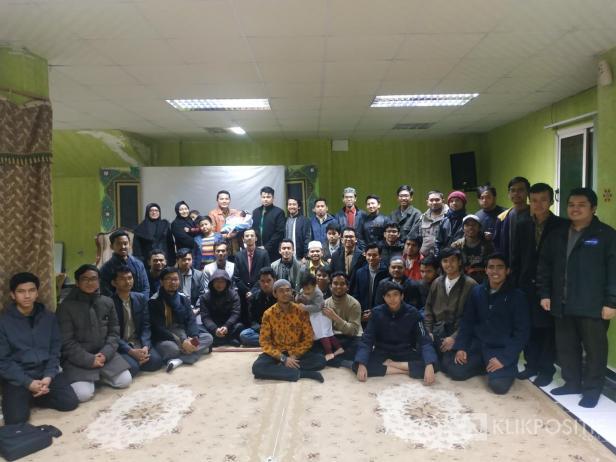 Mahasiswa Minang saat menghadiri acara Taragak Basuo bersama KMM Mesir