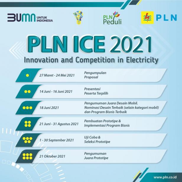 Poster jadwal ICE PLN 2021