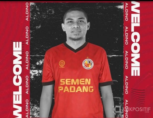 Aldino Herdianto, pemain asal Binjai, Medan jadi pemain ke-19 di Semen Padang FC