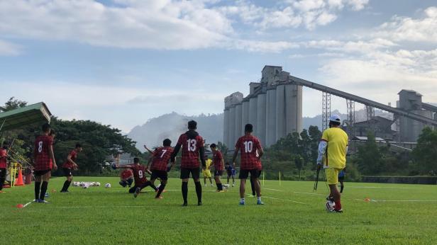 Latihan Pemain Semen Padang FC
