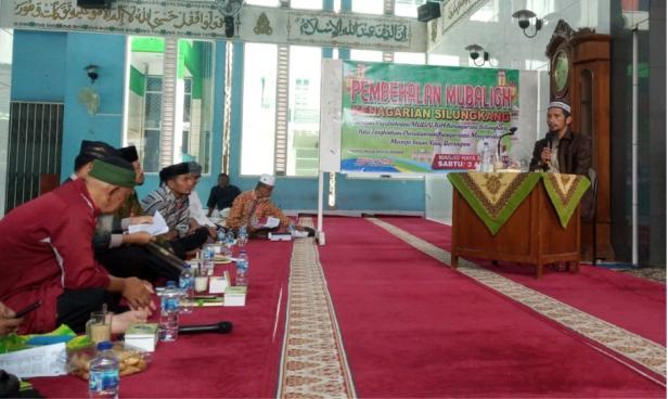 Pembekalan Mubalig dan Mubaligah di Masjid Raya Silungkang, Kota Sawahlunto