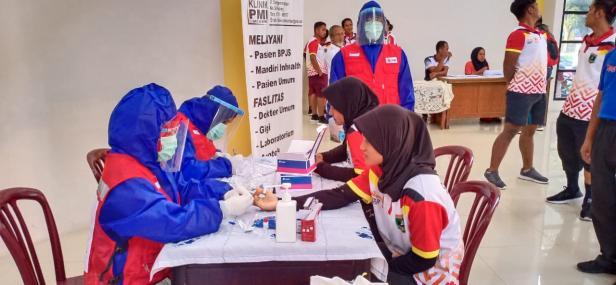 KONI Sumbar lakukan rapid tes untuk atlet yang lolos PON Papua
