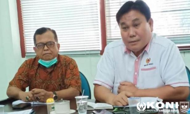 KONI Sumbar Tunjuk Togi Tobing Sebagai Ketua Tim Pelatprov PON XX 2021 Papua