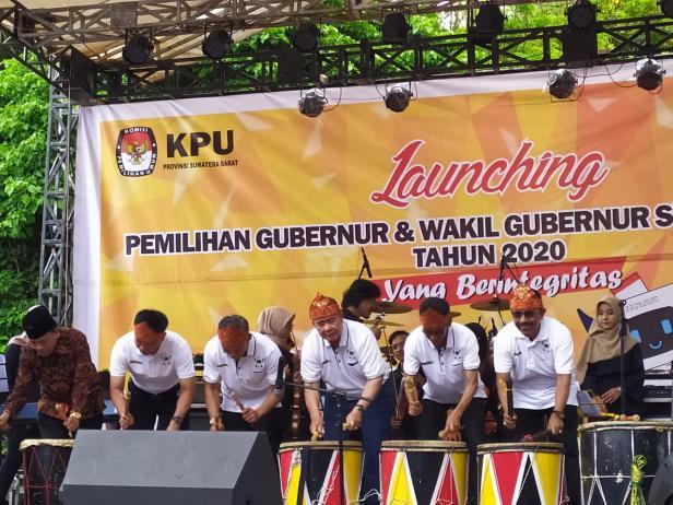 Launching pemilihan gubernur dan wakil gubernur Sumbar 2020