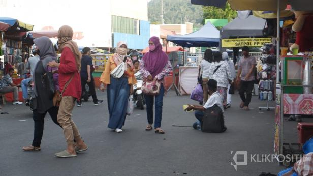 Pengemis di Pasar Raya Padang