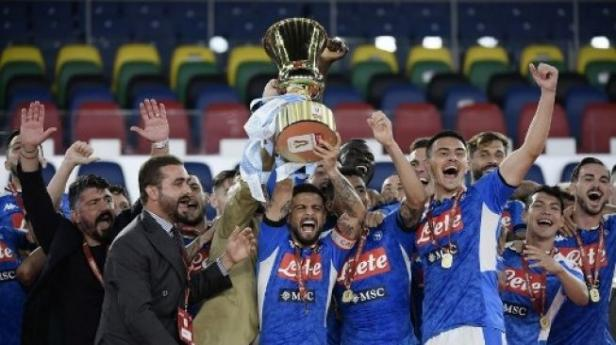 Napoli menjadi juara  Copa Italia