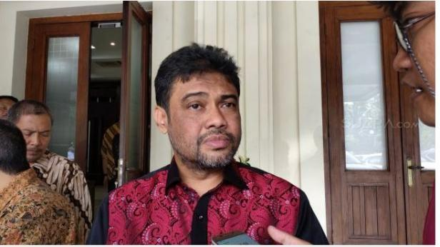 Presiden Konfederasi Serikat Pekerja Indonesia (KSPI) Said Iqbal