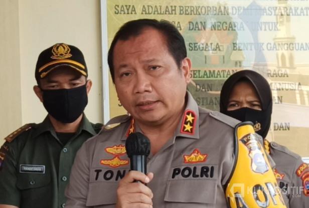 Kepala Polisi Sumatera Barat, Irjen Pol, Drs. Toni Harmanto, MH