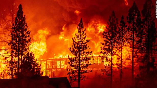Kebakaran hutan di AS