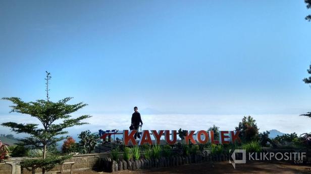 Suasana Panorama Kayu Kolek di Nagari Sikabu-kabu Tanjuang Haro Padangpanjang