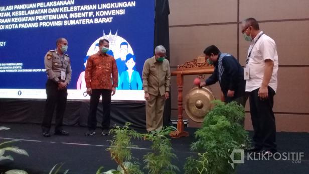 Kemenparekraf RI Sosialisasikan MICE di Kota Padang, Senin, 2 Maret 2021