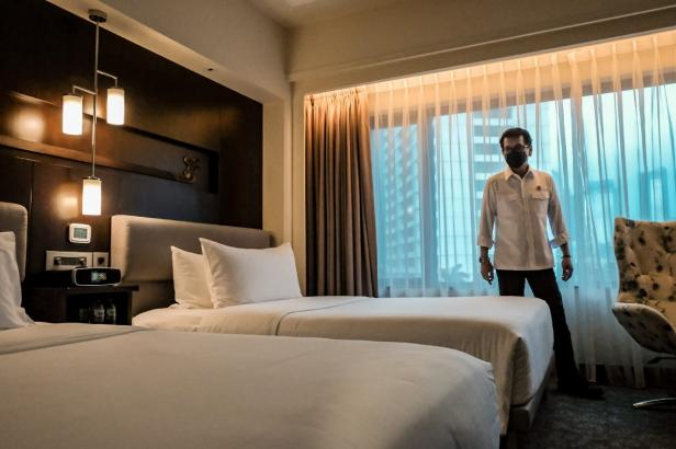 Peninjauan kamar hotel