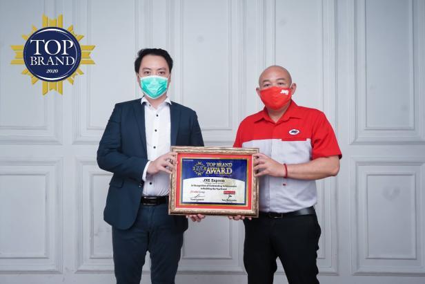 JNE terima Penghargaan Top Brand Award 2020 kategori Courier Service yang ke-7 Kalinya