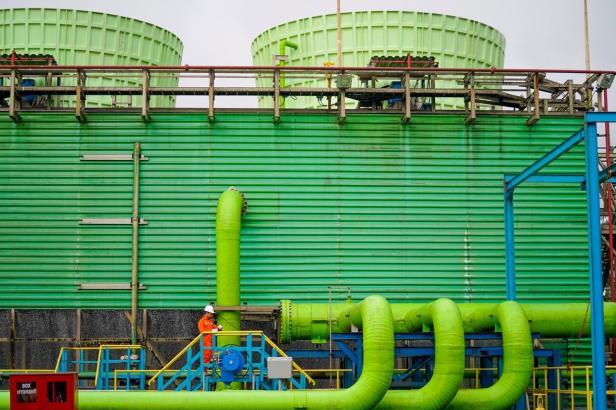 Salah satu kantor Pembangkit listrik milik PLN