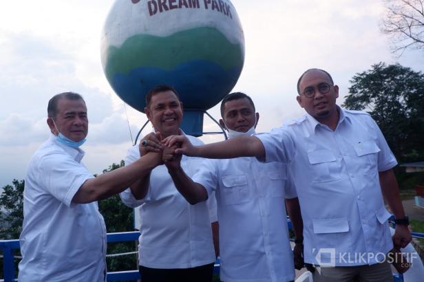 Jon Pandu, Nasrul Abit, Epiardi Asda dan Andre Rosiade salam kompak untuk menuju Pilkada Serentak