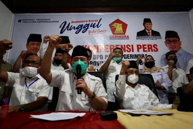 Deklarasi pasangan Nasrul Abit - Indra Catri