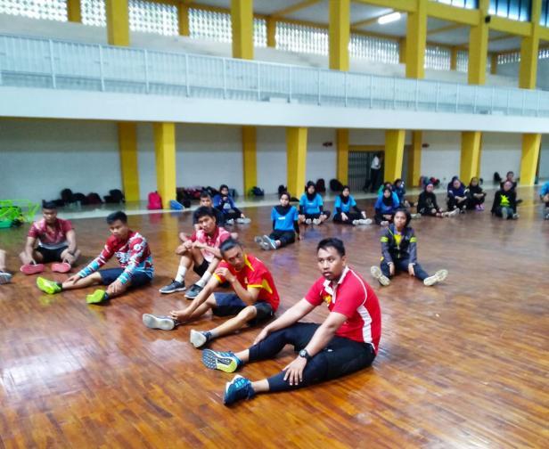 Sebanyak 154 atlet telah selesai melaksanakan tes kesehatan.