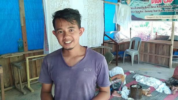 Yusrizal, Pengusaha Batik Salingka Tabek, Kabupaten Solok