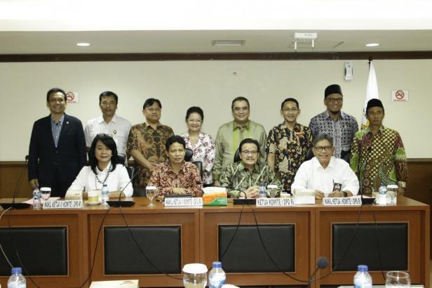Komite I DPD RI.