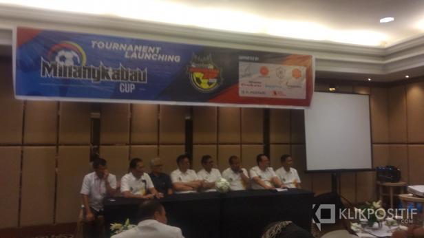 Launching Minangkabau Cup III di Hotel Pangeran Beach Padang