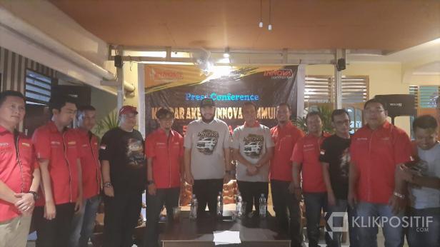 Press Conference Kopdar Akbar Innova Community Sumatera 2020