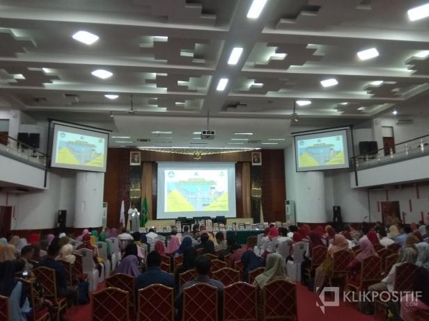 Launching Website Toko Buku di Convention Hall Unand