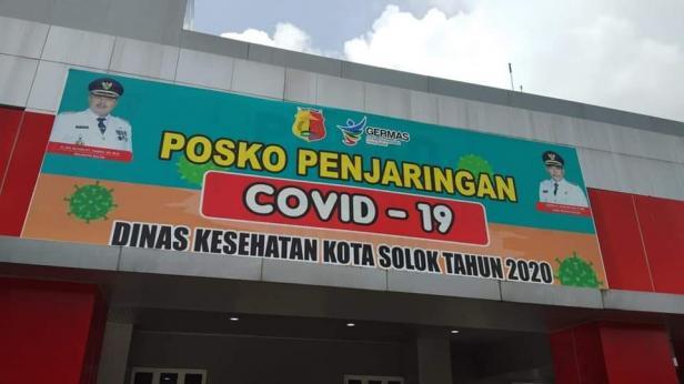 Posko penjaringan COVID-19 Kota Solok
