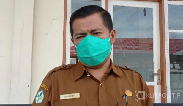 Kepala Dinas Kesehatan Kota Payakumbuh dr. Bakhrizal