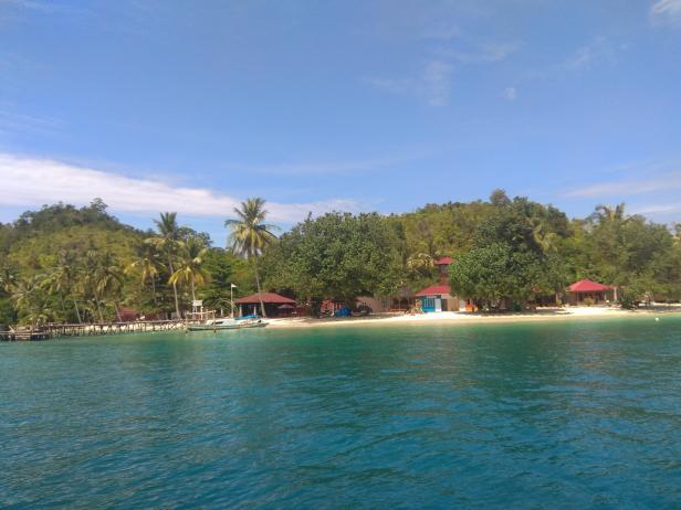Destinasi wisata Pulau Pagang