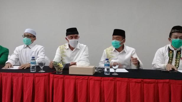 PKS -PPP deklarasikan pasangan bakal calon gubernur dan bakal calon wakil gubenur Mahyeldi-Audy, Minggu, 9 Agustus 2020