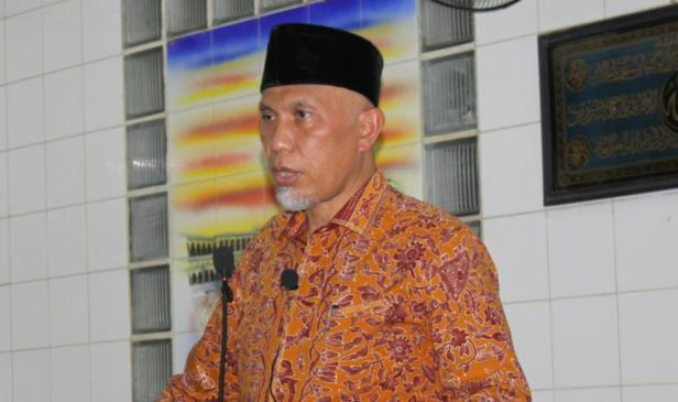 Gubernur Sumbar Mahyeldi Ansharullah