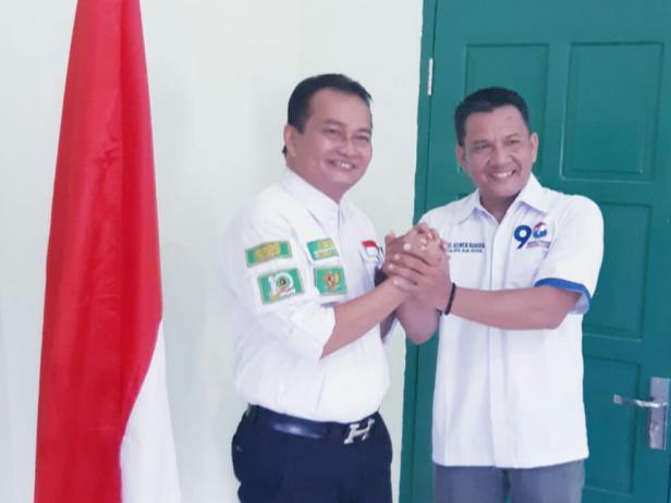 Ketua DPC PPP Pessel dan Ketua DPD Perindo