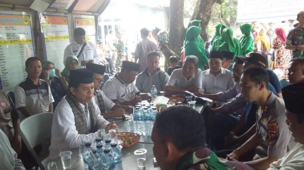 Rapat pembahasan penanganan pasca masa tanggap darurat di Nagari Padang Laweh Malalo Tanah Datar