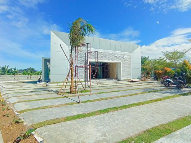 Masjid As-Syifa Semen Padang Hospital yang sudah rampung pengerjaannya. Dalam waktu dekat masjid ini akan segera di launching