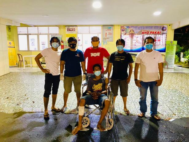 Tersangka saat diamankan tim opsnal Satreskrim Polresta Padang