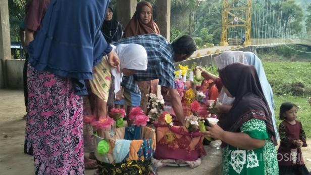 Prosesi balimau menyambut Ramadan 1442 Hijriah/2021 Masehi di Kampung Ganting Kubang-Pessel