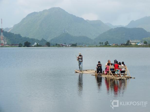Danau Tarusan, Sisa Danau Purba Kamang