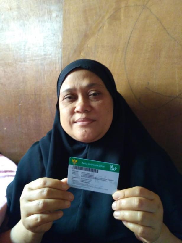 Peserta PBI JKN-KIS, Elma Farahiyangan (44 tahun)