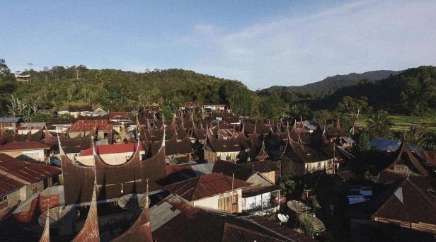 Kawasan Kampung Saribu Gonjong di Lima Puluh Kota